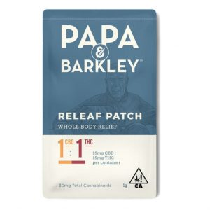 Papa & Barkley Releaf Patch