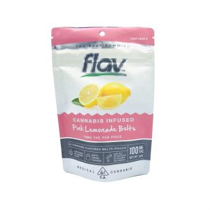 Flav Pink Lemonade Belts 100mg