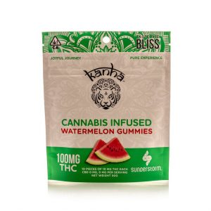 Kanha 100MG Gummies WATERMELON