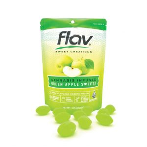 Flav Green Apple Sweets 100mg