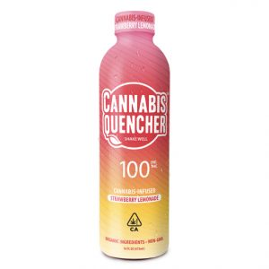 Strawberry Lemonade Quencher Drink 100mg