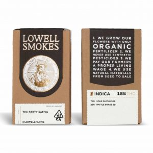 Lowell Sativa 7-pk Joints