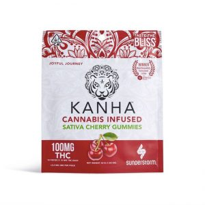 Kanha 100mg Cherry SATIVA