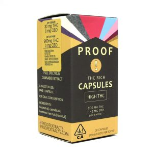 Proof THC Rich Capsules