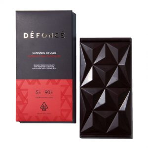 Defonce Chocolate Bar 90mg DARK HAZELNUT