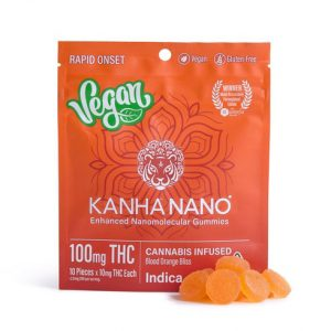 Kanha NANO Vegan 100mg Blood Orange INDICA