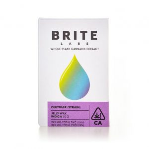 Brite Labs 1G Jelly Wax Sour Bubble