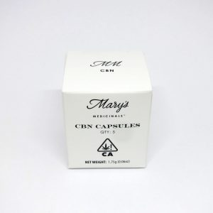 5pk CBN Capsules By Mary's