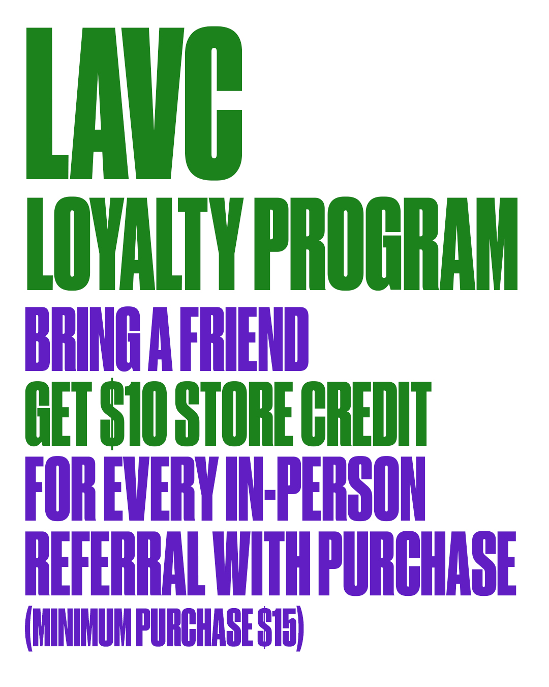 LAVC REFERRAL