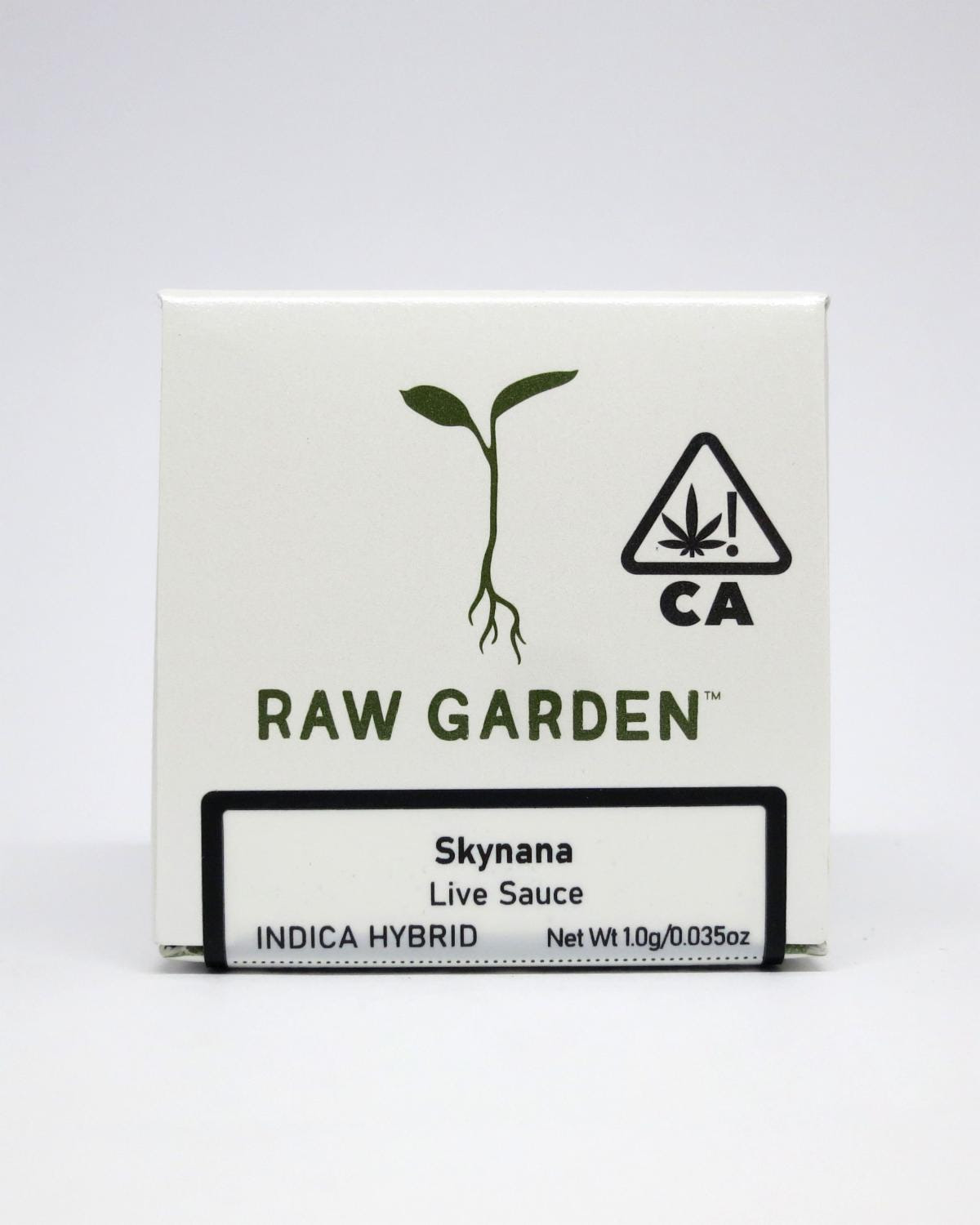 Raw Garden Concentrates